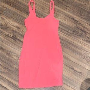 VS pink dress xs